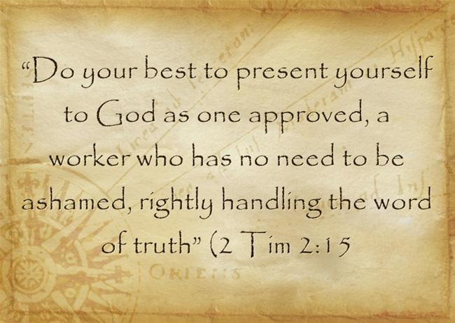 Discerning god bible study