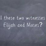 Two witnesses of Revelations