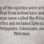 Bible Definition of Epistle