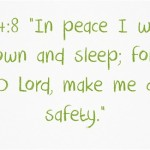 Bible verses to help with sleepless nights