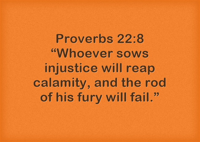 Bible Verses About Injustice