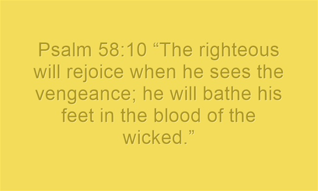 Violent Bible Quotes Mesmerizing Top 7 Bible Verses About Revenge