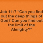Bible Verses About Finding God