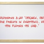Bible Verses For A Rebellious Child