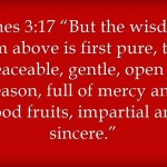 Bible Verses Wisdom Discernment