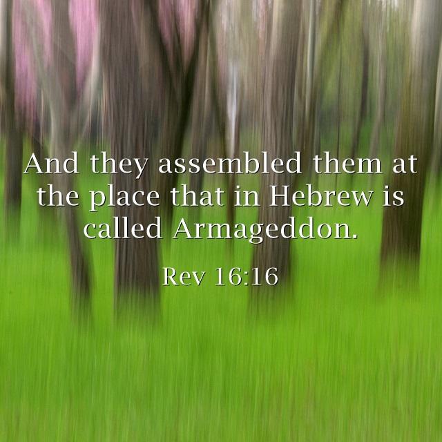 Top 7 Bible Verses About Armageddon