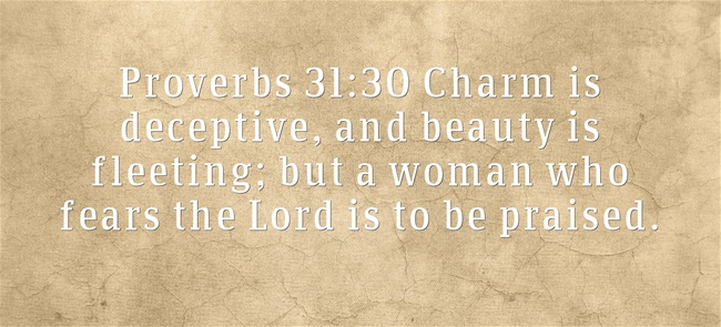 Bible Verses About Appearance