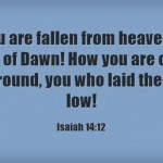How-you-are-fallen-from