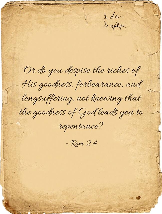 Delightful God Is Longsuffering In The New Testament