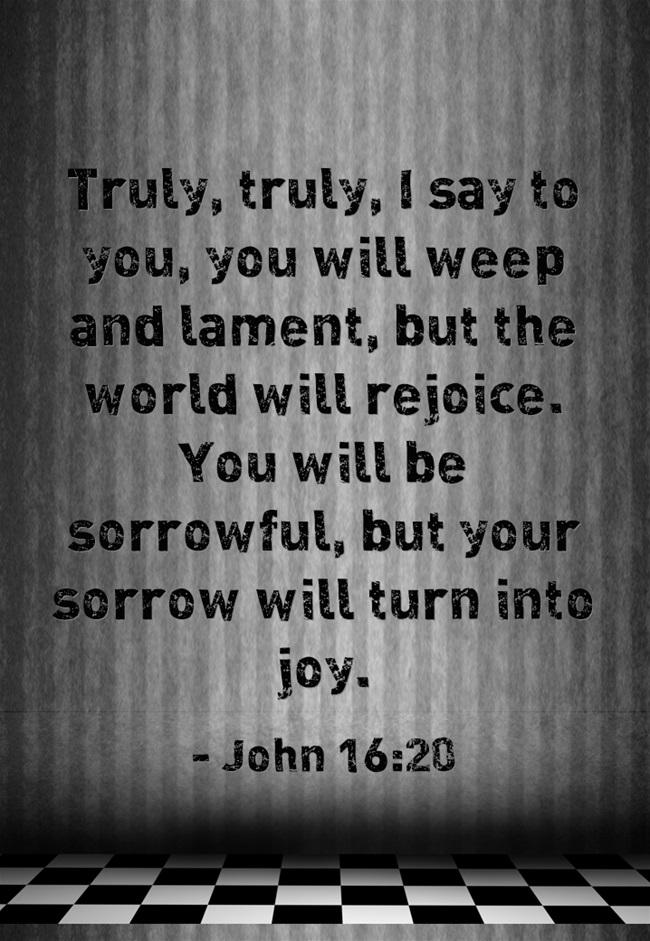 Superb Lamentation As Repentance