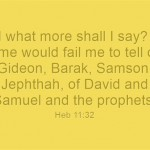 A Big List of Prophets From The Bible