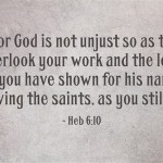 For-God-is-not-unjust-so