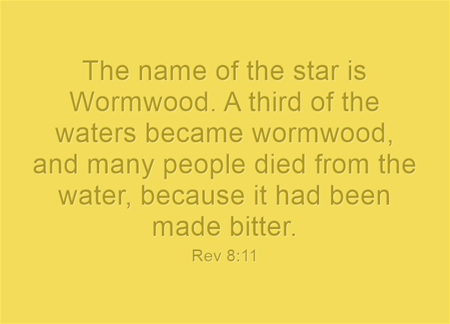 What Is The Meaning Of Wormwood From The Book Of Revelation
