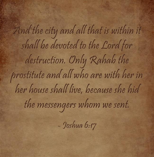 prostitute rahab