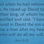 A Sunday School Lesson On David
