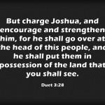 A Sunday School Lesson On Joshua