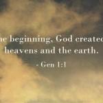 A Sunday School Lesson On Creation