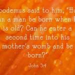 A Sunday School Lesson On Nicodemus