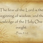 A Sunday School Lesson On Fear