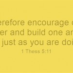 Therefore-encourage-oneB