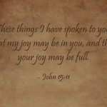 A Sunday School Lesson On Joy
