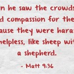 A Sunday School Lesson On Compassion