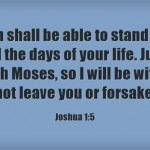 5 Powerful Bible Verses From The Book Of Joshua