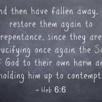 Hebrews 6: Bible Study, Commentary and Summary