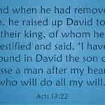 Top 7 Bible Verses About David