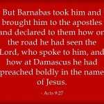 Top 7 Bible Verses About Barnabas