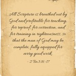 What Does The Authority Of Scripture Mean?