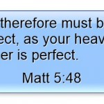 "Jesus Told Us, ""You Be Perfect"" But How Is That Possible?"