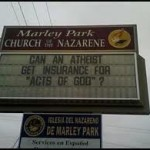 Always good to pick fights on your church sign.