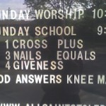 "Church Sign Epic Fails: ""Festival of Tolerance"" Edition"