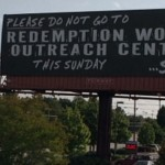 "Church Sign Epic Fails: ""Satan's Graffiti"" Edition"