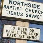 "Church Sign Epic Fails, ""Pass the Ammo"" Edition"