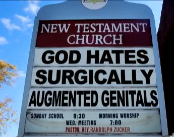 Church Sign Epic Fails Surgically Altered Edition