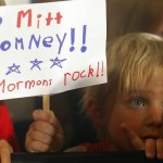 Cute kid, and I think he's right. Romney does basically rock like a Mormon...which is kinda why he lost.