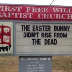 "Church Sign Epic Fails ""Bunny Love"" Edition"