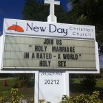 "Church Sign Epic Fails, ""Holy Sex"" Edition"
