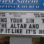 "Church Sign Epic Fails, ""Drop It Like It's Hot"" Edition"