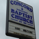 "Church Sign Epic Fails, ""Guns Welcome"" Edition"
