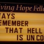 "Church Sign Epic Fails, ""Hell Ain't Cool"" Edition"