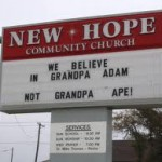 "Church Sign Epic Fails, ""Grandpa Ape"" Edition"