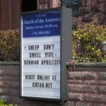 "Church Sign Epic Fails, ""Smelly Sheep"" Edition"