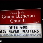 "Church Sign Epic Fails, ""Size Matters"" Edition"