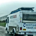 At first I thought this sounded gross, but then I found out they just grind up and sprinkle Christians on top of the tacos. Whew!