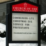 "Church Sign Epic Fails, ""Communion Lite"" Edition"