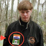 A screenshot, taken from Dylan Roof's Facebook page