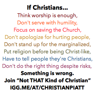 """Tired of being a """"Christian But""""?"""